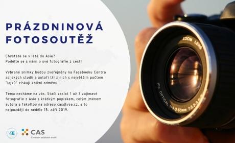 Prázdninová foto-soutěž CAS