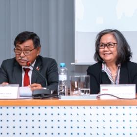 Přednáška velvyslanců o sdružení národů jihovýchodní Asie (ASEAN)