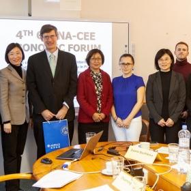 Ze společné konference FMV a SDUFE: 4th China-CEE Economic Forum
